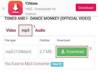Cara Mengubah Video ke MP3 di Android Tanpa Aplikasi 11