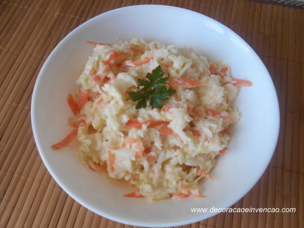 receitas jamie oliver,salada de repolho fácil