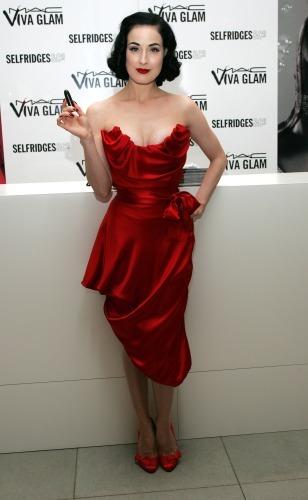 Dita Von Teese Dress Fashion Dresses