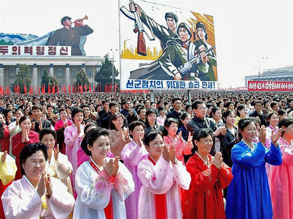 beunruhigende aufnahmen aus nordkorea
