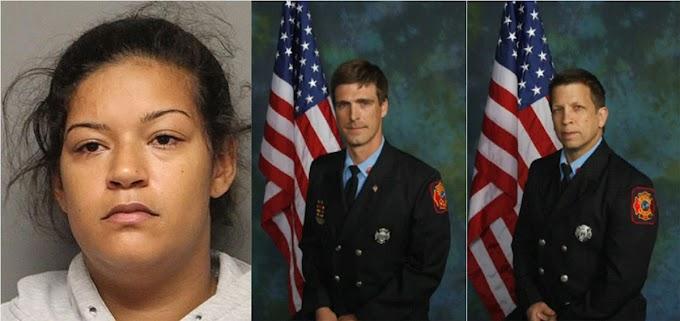 Dominicana nativa de Moca acusada de asesinato de dos bomberos en fuego intencional en Delaware
