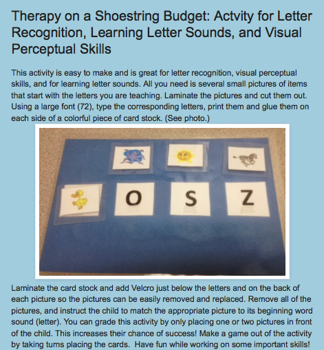 http://drzachryspedsottips.blogspot.com/2014/02/working-on-letter-recognition-learning.html