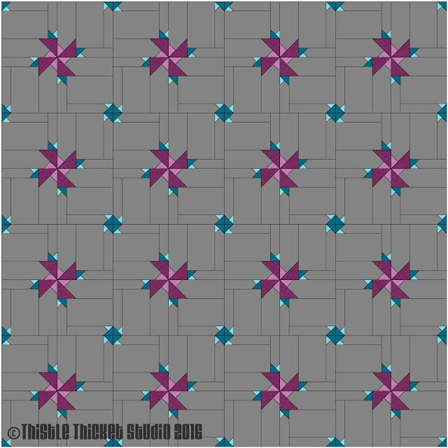 Thistle Thicket Studio, Cloud9 Fabrics, Cloud 9 Fabrics, Cirrus Solids, Thistleberry Stars quilt, Thistleberry Stars block, free block pattern, new block blog hop