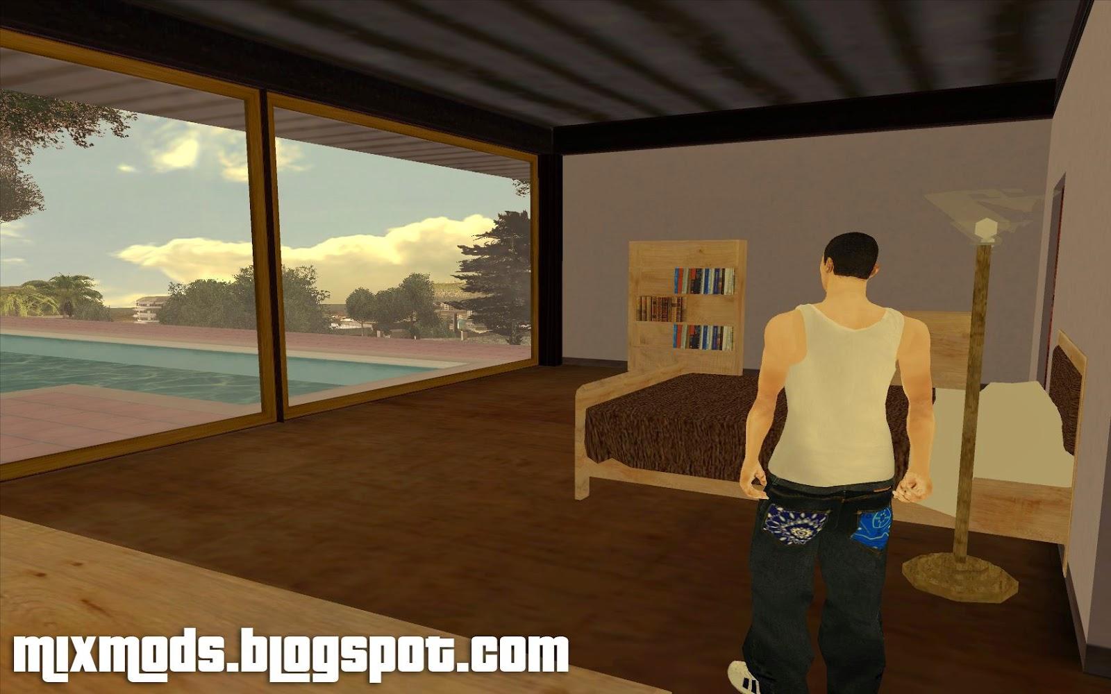 beta mulholland safehouse safe-house gta sa beta mod