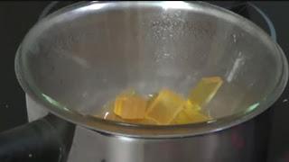 Jabón glicerina al baño maría