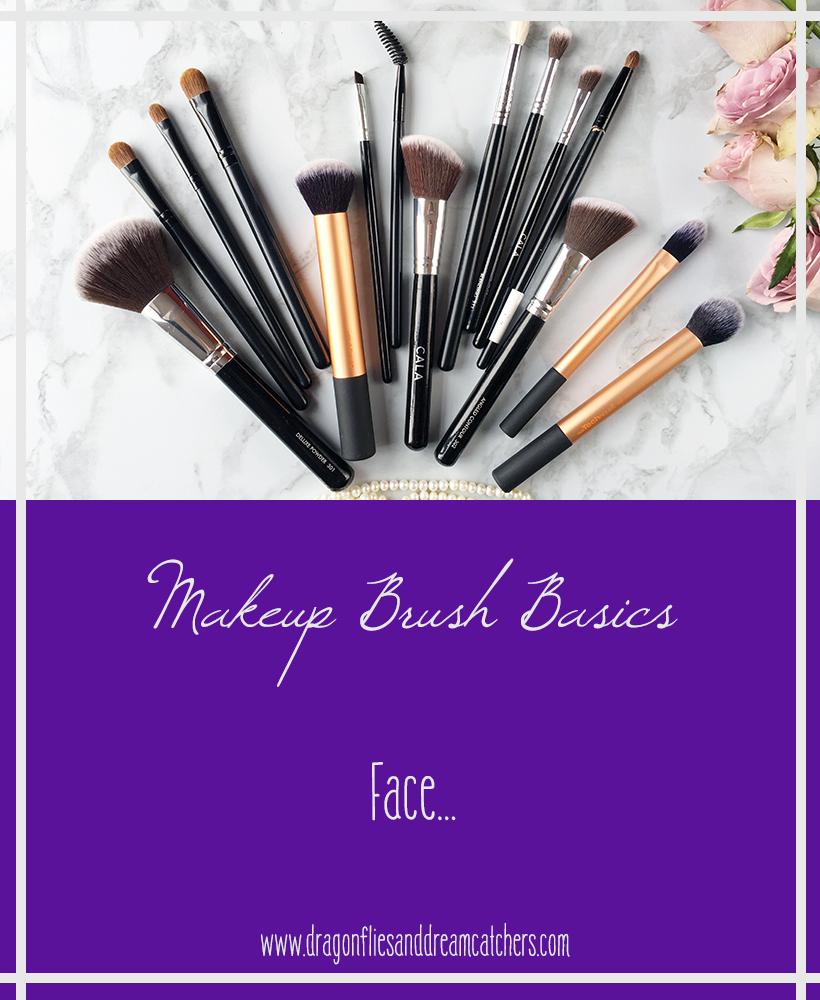 Makeup brush basics for your face