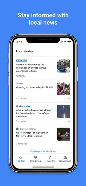 支援AI 人工智慧的Google 新聞上架App Store | iPhone News 愛瘋了
