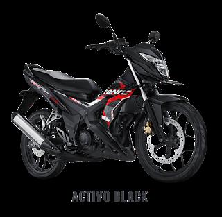 Warna Baru Sonic 150 2018 Activo Black Dealer Honda Sejahtera Mulia Cirebon
