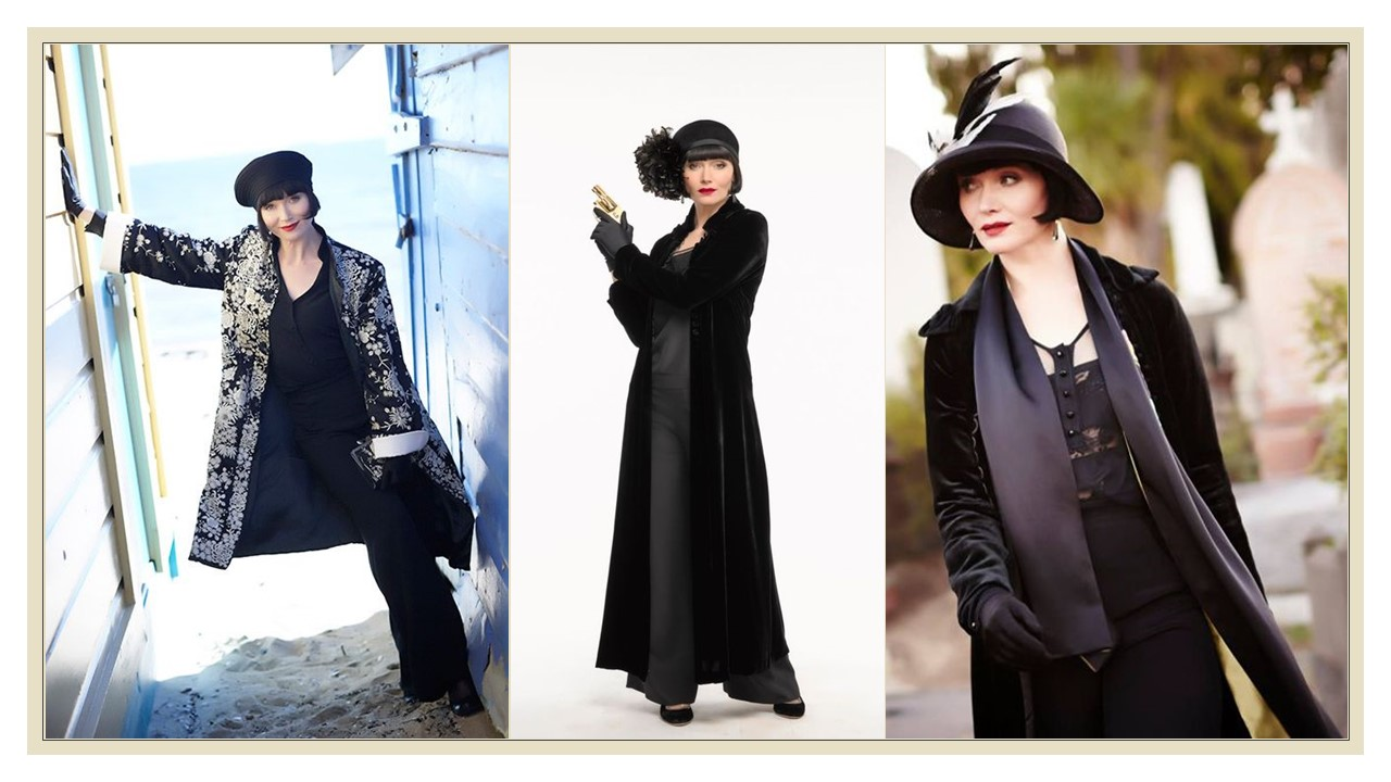 015e8d7c078391 Watching the glamorous Miss Fisher for two seasons, you'll notice she wears  a variation of the same outfit just about every episode, particularly in  season ...