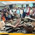 भीषण अग्निकांड में दो दूकान जलकर राख, गैस सिलिंडर भी फटा