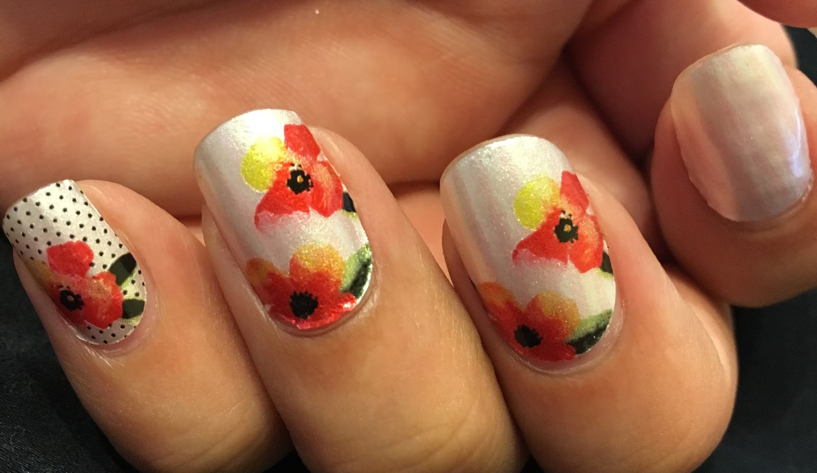 lovelifeoutloud: Nails of the Week #89: Coconut Nail Art by Incoco ...