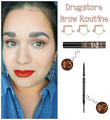 Drugstore Brow Routine