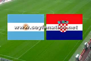 Argentina vs Croacia Amistoso 2014