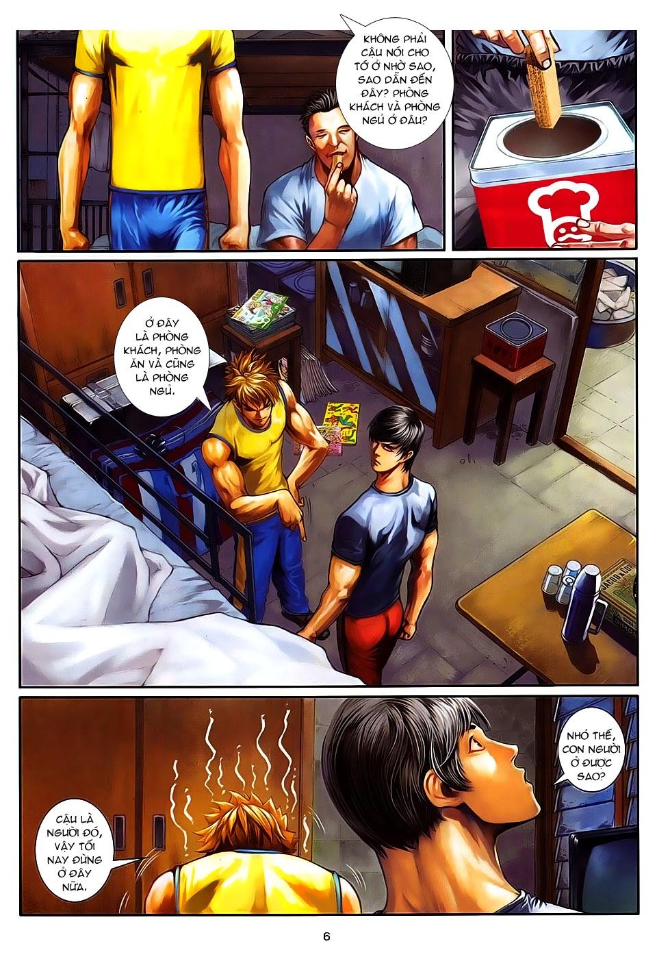 Quyền Đạo chapter 8 trang 6