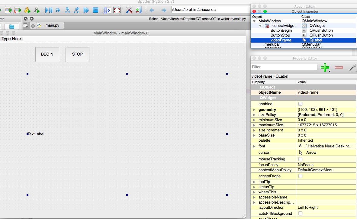 İbrahim Delibaşoğlu: Python - Webcam Capture GUI with PyQT
