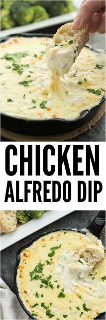 CHíCKEN ALFREDO DíP