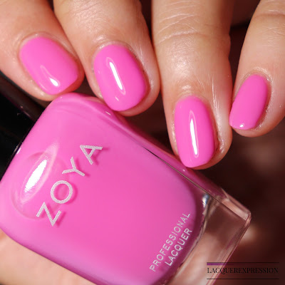 Swatch and Review of Zoya Princess from the Zoya Kisses Collection