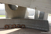 Visit Israel: A memorial to the 8th Brigade is located adjacent to the Ben Gurion International Airport