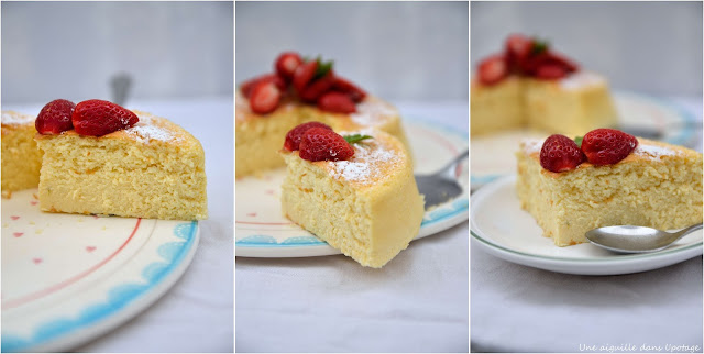 japanese cheese cake recipe