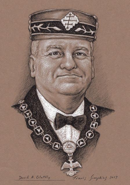 David Glattly, 33°. Past Sovereign Grand Commander. Scottish Rite, NMJ. by Travis Simpkins