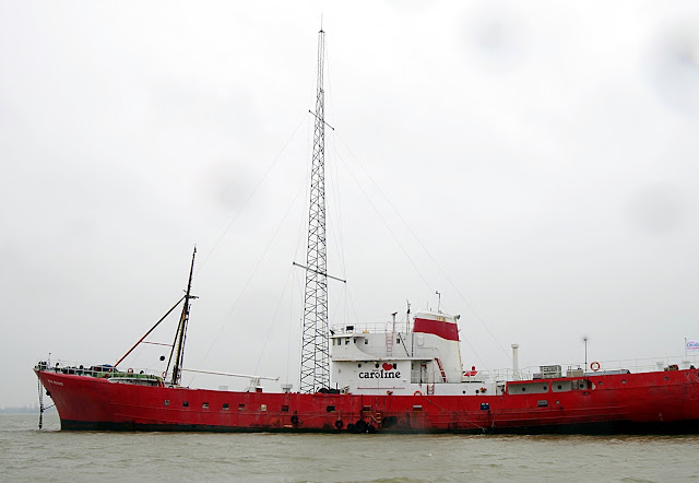 Ross Revenge Radio Caroline fishing trawler boat trips
