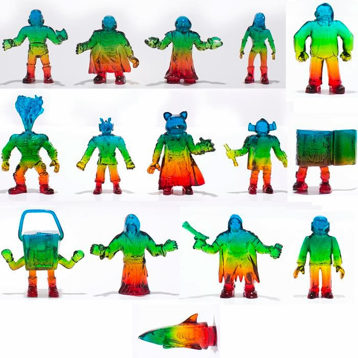 """S.U.C.K.Y. Worms"" Custom S.U.C.K.L.E. Mini Figure Series by Killer Bootlegs"