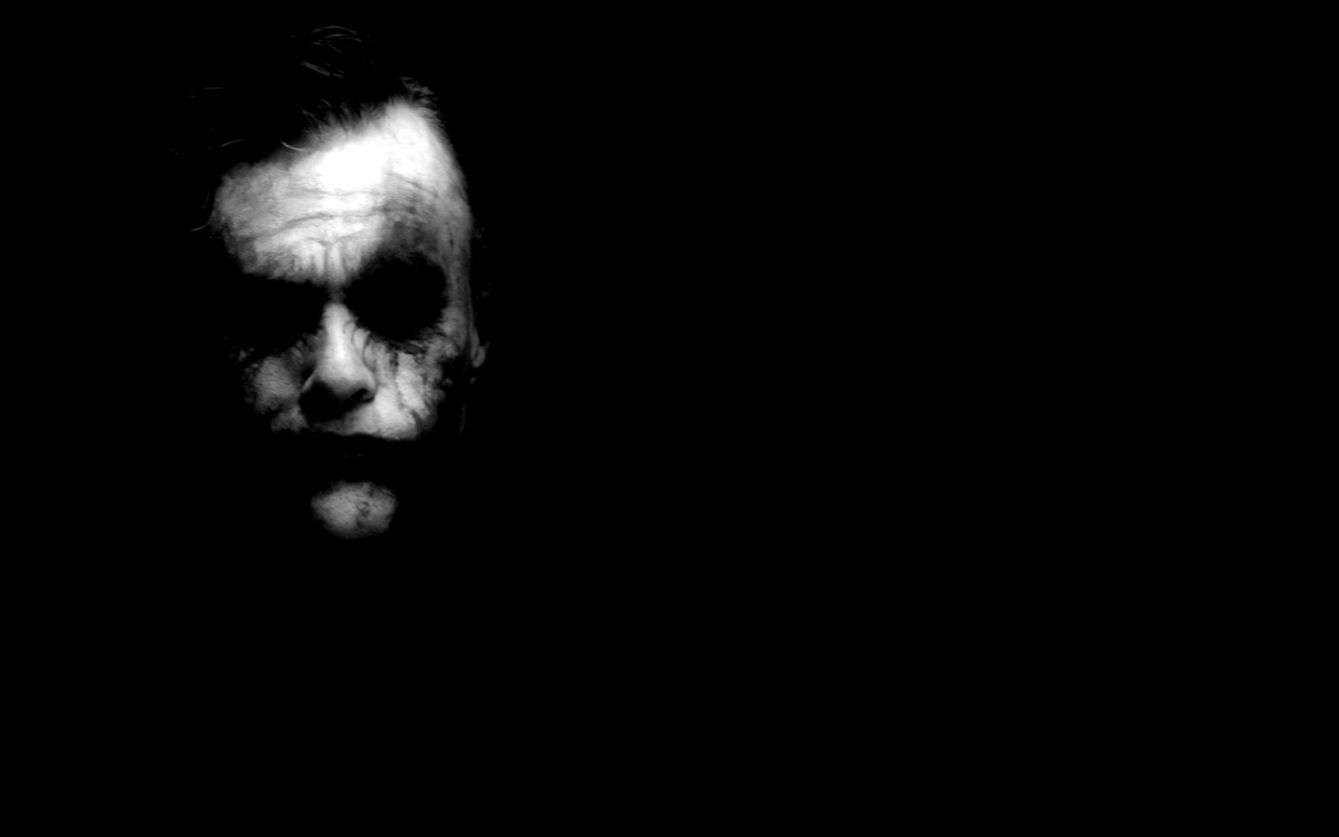 The Joker Black Desktop Background Cute Wallpapers