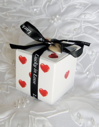 Celebrate That At Your Wedding With These Lucky In Love Dice Favor Bo