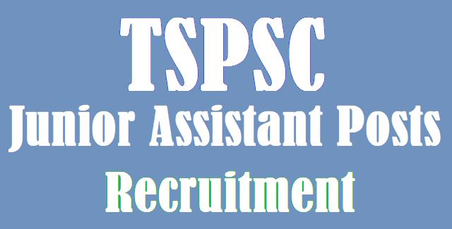TS Jobs, TSPSC, TSPSC Recruitments, TSPSC Junior Assistant Posts, Junior Accountant Jobs, www.tspsc.gov.in