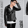 indonesia shop sk19 korean biker jacket style