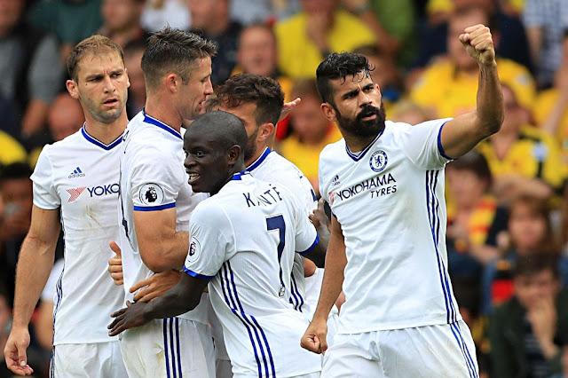 Berbalik Unggul, Chelsea Permalukan Watford