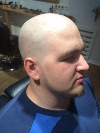 Corte de pelo al cero
