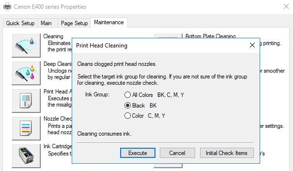 Cara mengatasi printer bergaris