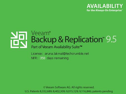 Veeam Availability Suite v9.5 - Adding the vCenter Server