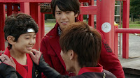 Takaharu meets his son