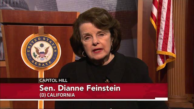 Resultado de imagen de la senadora judía Feinstein ha dicho abiertamente que Trumpno acabará su mandato