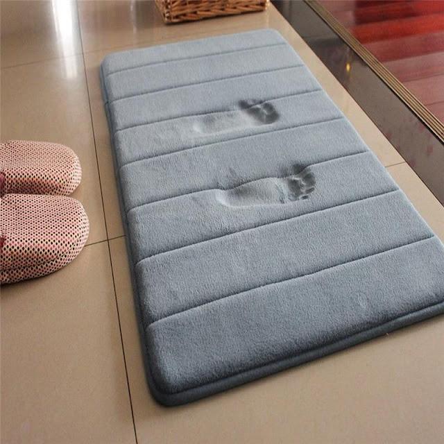 Memory Foam Water Absorption Bathroom Mat