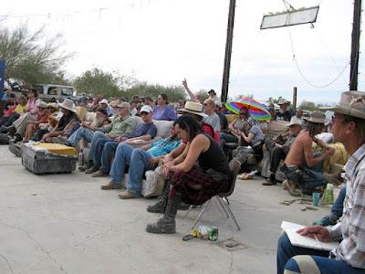Reunión de residentes de Slab City