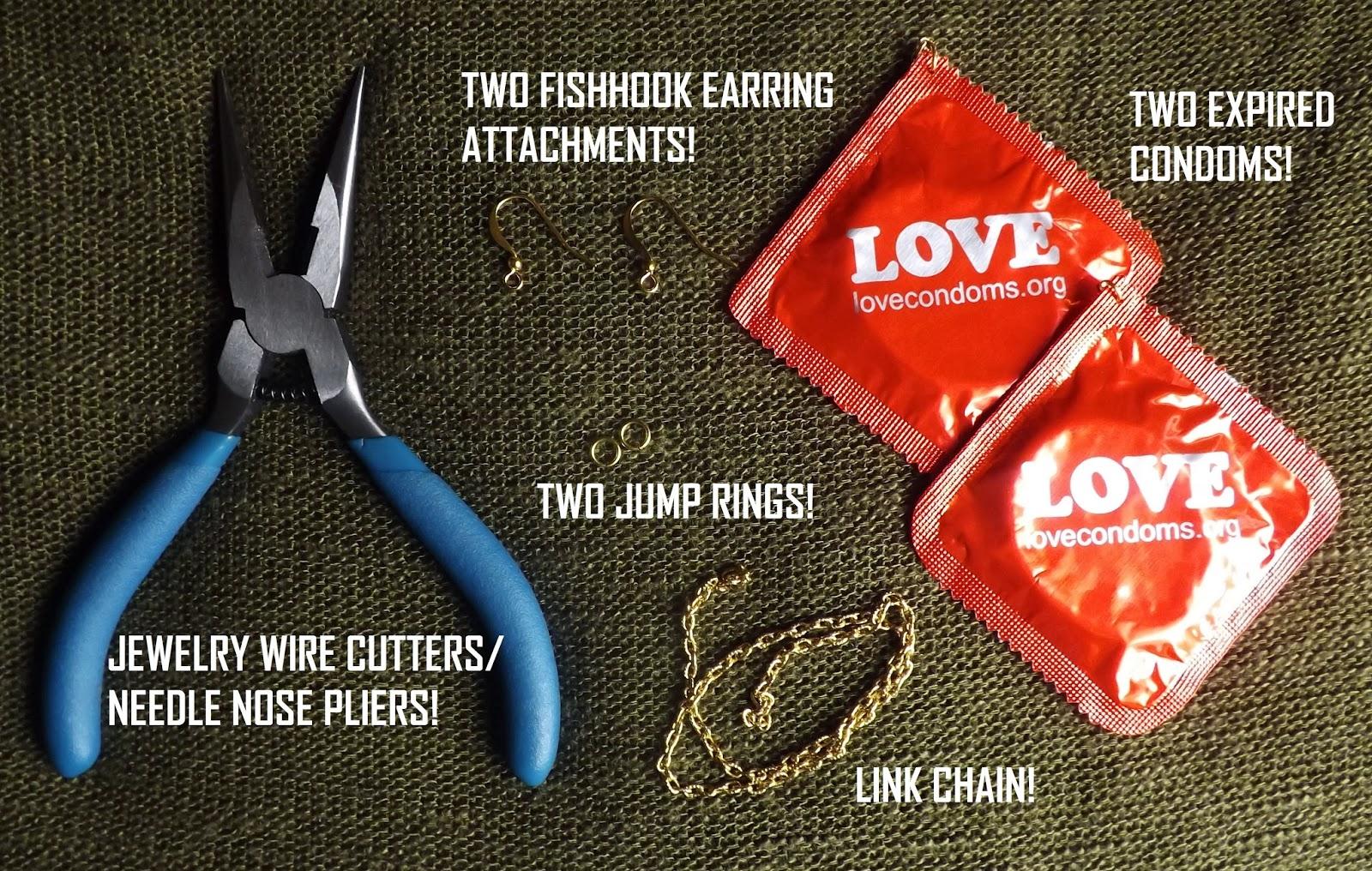 Expired condom