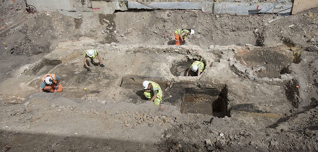 New archaeological evidence excavated at Shakespeare's Theatre