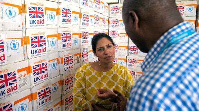 Britain to cut aid to Nigeria in half