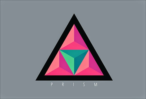Kumpulan Desain Logo Low Poly - Prism Event Low Polygon Logo