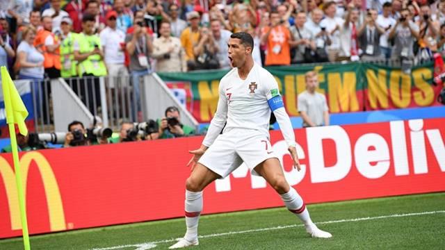 Portugal vs Maroko - Piala Dunia 2018