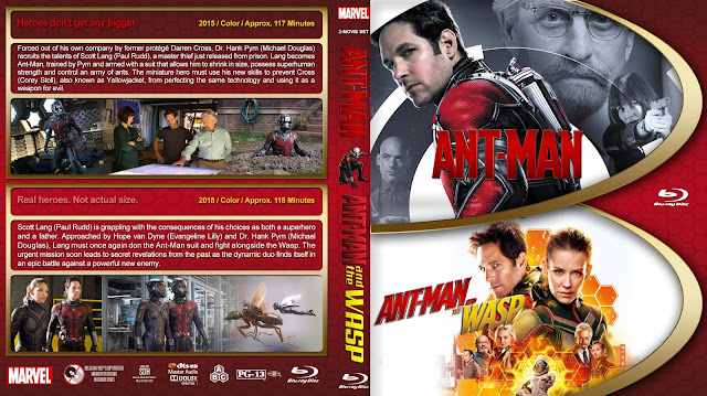 Ant-Man Double Feature Bluray Cover