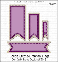 ODBD Custom Double Stitched Pennant Flags Dies
