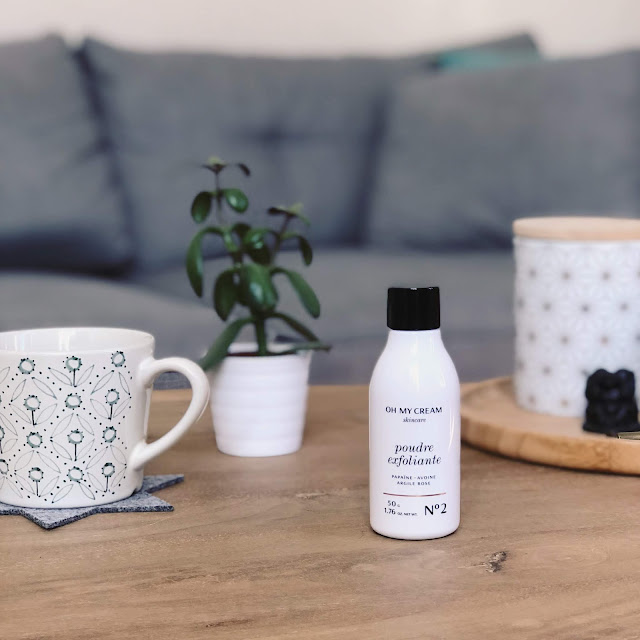 The New Blacck - blog - orléans - Oh My Cream - poudre exfoliante