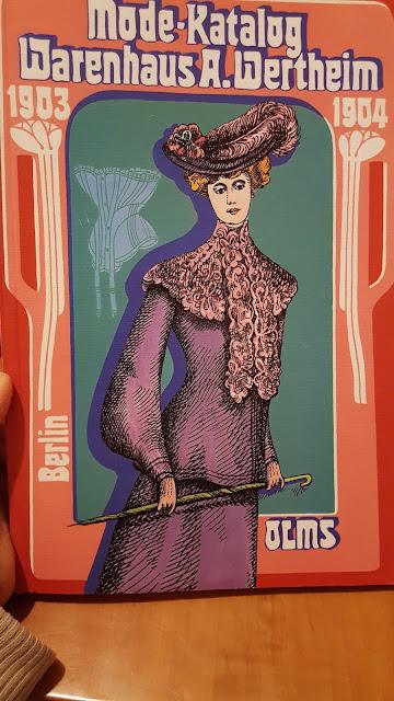 Mode Katalog Wanrehaus Wertheim fashion catalog 1900 1900s german reprint
