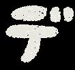 カタカナのペンキ文字「デ」