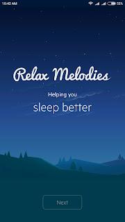 aplikasi android pengantar tidur
