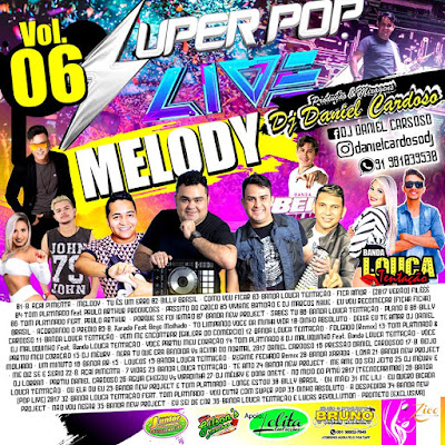 CD SUPER POP LIVE MELODY 2017 VOL 06